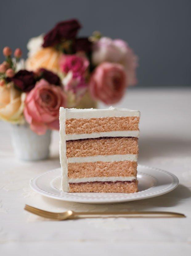 One Sweet Slice cake