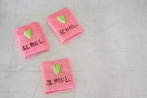 Final school book cupcakes