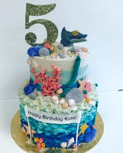 Mermaid Birthday Cake - Bakery